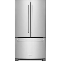 Kitchen Aid KRFC300ESS 20 Cu. Ft. Stainless Counter-Depth French Door Refrigerator - KRFC300ESS - IN STOCK