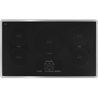 Kitchen Aid Architect II KICU569XSS 36 in. Stainless 5 Burner Electric Induction Cooktop - KICU569XSS - IN STOCK