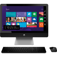 HP ENVY Recline, 23 in. Touchscreen, Intel Core-i5, 8GB RAM, 1TB HDD, Windows 8.1 All-in-One PC - 23-K319 / 23K319 - IN STOCK