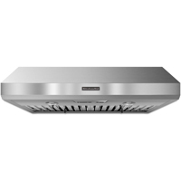 Kitchen Aid KXU8036YSS 36 in. Stainless Under-The-Cabinet Wall Hood - KXU8036YSS - IN STOCK