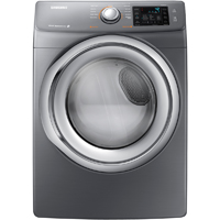 Samsung DV42H5200GP Electric 7.5 Cu. Ft. Platinum Front Load Steam Gas Dryer - DV42H5200GP - IN STOCK