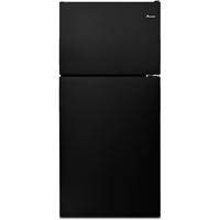 Amana ART308FFDB 18 Cu. Ft. Black Top Freezer Refrigerator - ART308FFDB - IN STOCK