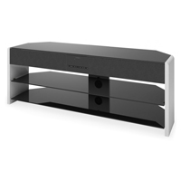CorLiving Santa Brio Glossy White 50 in. TV Stand with Sound Bar  - TSB-918-T / TSB918T - IN STOCK