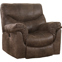 Ashley Signature Design Alzena Gunsmoke Contemporary Rocker Recliner - 7140025 - IN STOCK
