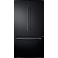 Samsung RF26HFENDBC 25.5 Cu. Ft. Black French Door Refrigerator - RF26HFENDBC - IN STOCK
