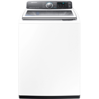 Samsung WA48J7700AW 4.8 White High Efficiency Top Load ActiveWash Washer - WA48J7700AW - IN STOCK