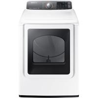 Samsung DV48J7700EW Electric 7.4 Cu.Ft. White High Efficiency Steam Dryer - DV48J7700EW - IN STOCK