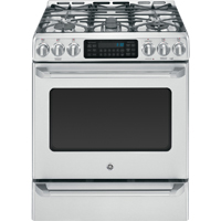 G.E. Café CGS985SETSS 5.4 Cu. Ft. Stainless 5 Burner Slide-In Range with Baking Drawer - CGS985SETSS - IN STOCK