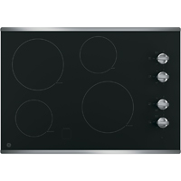 G.E. JP3030SJSS 30 in. Stainless 4 Burner Electric Cooktop - JP3030SJSS - IN STOCK