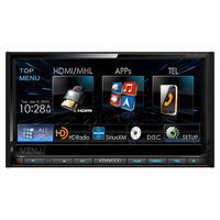 Kenwood 2-DIN Monitor Receiver w/ Bluetooth & HD Radio - DDX9702 - IN STOCK
