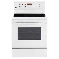LG LRE3083SW 6.3 Cu. Ft. White 5 Burner Freestanding Range  - LRE3083SW - IN STOCK