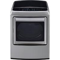 LG DLEY1701VE 7.3 Cu. Ft. Graphite EasyLoad High Efficiency European Design Top Load Steam Dryer - DLEY1701VE - IN STOCK