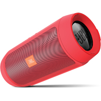 JBL Charge 2+ Splashproof Bluetooth Speaker - Red - CHARGE2+RED - IN STOCK