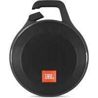 JBL Clip+ Rugged Splashproof Bluetooth Speaker - Black - CLIP+BLK - IN STOCK