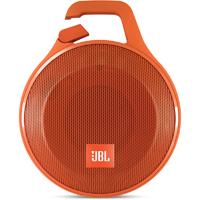 JBL Clip+ Rugged Splashproof Bluetooth Speaker - Orange - CLIP+ORG - IN STOCK