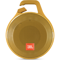 JBL Clip+ Rugged Splashproof Bluetooth Speaker - Yellow - CLIP+YEL - IN STOCK