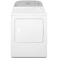 Whirlpool WGD4815EW Gas 7 Cu. Ft. White Top Load Dryer - WGD4815EW - IN STOCK