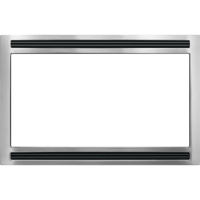 Frigidaire Black/Stainless 27 in. Microwave Trim Kit - MWTK27KF - IN STOCK