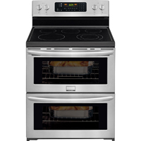 Frigidaire Gallery FGEF302TPF 7.2 Cu. Ft. Stainless Double Oven Range - FGEF302TPF - IN STOCK