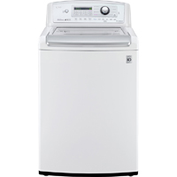LG WT5270CW 4.9 Cu. Ft. White High Efficiency Top Load Washer - WT5270CW - IN STOCK