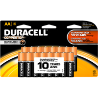 Duracell Coppertop 16/Pack Alkaline AA Batteries - MN1500B16Z16 - IN STOCK