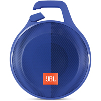 JBL Clip+ Rugged Splashproof Bluetooth Speaker - Blue - CLIP+BLU - IN STOCK