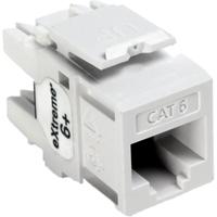 Leviton White Cat6 Extreme Jack - LEV61110RW6 - IN STOCK