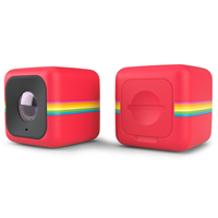 Polaroid Cube+ Mini Lifestyle Action Camera - Red - POLCPR1 - IN STOCK