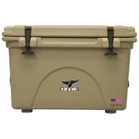 ORCA Coolers ORCT040 Tan 40 Quart Cooler - ORCT040 - IN STOCK