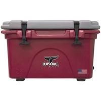 ORCA Coolers ORCCR/GR026 Collegiate Crimson & Grey 26 Quart Cooler - ORCCRGR026 - IN STOCK