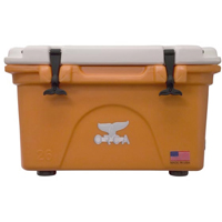 ORCA Coolers ORCOR/WH026 Collegiate Orange & White 26 Quart Cooler - ORCORWH026 - IN STOCK