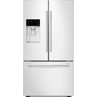 Samsung RF23HCEDBWW 22.5 Cu. Ft. White Counter-Depth French Door Refrigerator - RF23HCEDBWW - IN STOCK