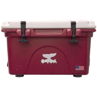 ORCA Coolers ORCCR/WH026 Collegiate Crimson & White 26 Quart Cooler - ORCCRWH026 - IN STOCK