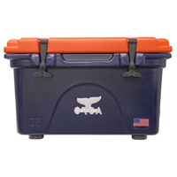 ORCA Coolers ORCNA/OR026 Collegiate Navy & Orange 26 Quart Cooler - ORCNAOR026 - IN STOCK