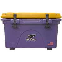 ORCA Coolers ORCPU/GO026 Collegiate Purple & Gold 26 Quart Cooler - ORCPUGO026 - IN STOCK