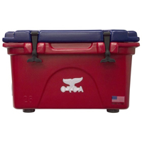 ORCA Coolers ORCRE/BL026 Collegiate Red & Blue 26 Quart Cooler - ORCREBL026 - IN STOCK