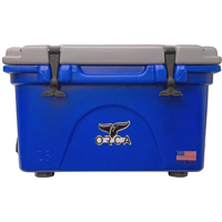 ORCA Coolers ORCBL/GR026 Collegiate Blue & Grey 26 Quart Cooler - ORCBL-GR026 / ORCBLGR026 - IN STOCK