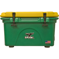 ORCA Coolers ORCGR/YE026 Collegiate Green & Yellow 26 Quart Cooler - ORCGRYE026 - IN STOCK