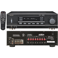 Sherwood 100 Watt x 4 RMS Dual-Zone Stereo Receiver (Black)  - RX5502 - IN STOCK