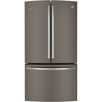 G.E. Profile PWE23KMDES 23.1 cu. ft. Slate Counter Depth French Door Refrigerator - PWE23KMDES - IN STOCK