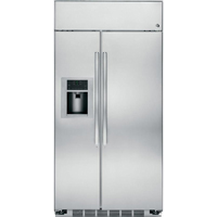G.E. Profile PSB48YSHSS 48 in. Built-in Stainless Side-by-Side Refrigerator - PSB48YSHSS - IN STOCK