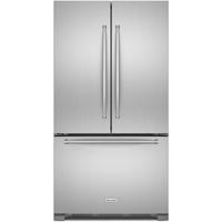 Kitchen Aid KRFC302ESS 22 Cu.Ft. Stainless Steel 3 Door French Door Refrigerator - KRFC302ESS - IN STOCK