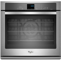 Whirlpool Gold WOS92EC7AS 27 in. Stainless Convection Single Wall Oven - WOS92EC7AS - IN STOCK