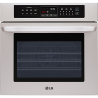 LG LWS3010ST 30 in. Stainless Convection Single Wall Oven - LWS3010ST - IN STOCK