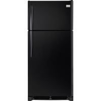 Frigidaire Gallery FGTR1845QE 18.3 Cu. Ft. Black Top Freezer Refrigerator - FGTR1845QE - IN STOCK