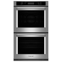 Kitchen Aid KODE300ESS 30 in. Stainless Convection Double Wall Oven - KODE300ESS - IN STOCK