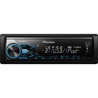 Pioneer Digital Media Receiver with MIXTRAX�, Built-in Bluetooth� - MVHX380 - IN STOCK