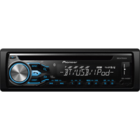 Pioneer CD Receiver w/ MIXTRAX, USB Playback and Bluetooth - DEHX4800 - IN STOCK