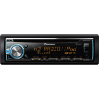 Pioneer Single DIN CD HD Receiver - DEHX5800 - IN STOCK