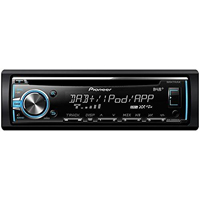 Pioneer Single DIN Bluetooth CD Receiver - DEHX6800 - IN STOCK
